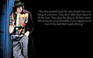 Quote of the Day (The Doctor)