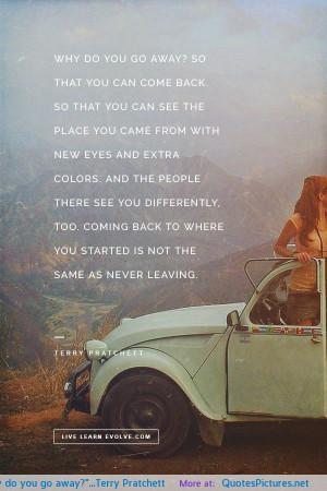 Away Terry Pratchett Motivational Inspirational Love Life Quotes