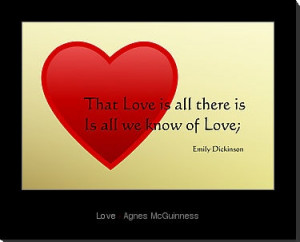 Love Quotes Emily Dickinson