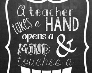 Popular items for teacher quote