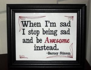 Funny Barney Stinson Quote
