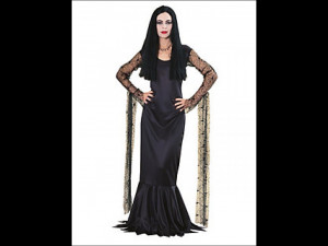 American Fancy Dress Costumes Store Morticia Addams Costume Adult