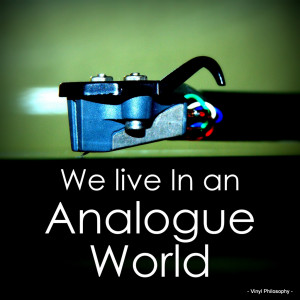 Analogue World - Vinyl Quote