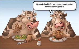 Funny Vegan Cartoon!