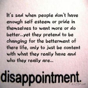 Disappointment Quotes and Sayings