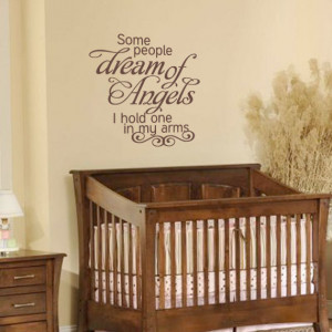 Nursery Wall Decal - Script Vinyl Wall Quote For Baby Nursery Boys Or ...
