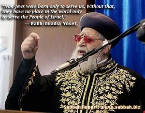 Rabbi Yosef: Gentiles exist only to serve Jews - JPost - Jewish World ...