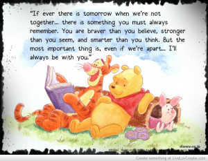 Winnie The Pooh Braver Quote