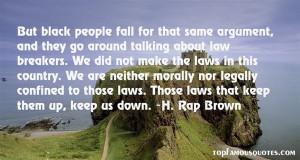 Favorite H Rap Brown Quotes