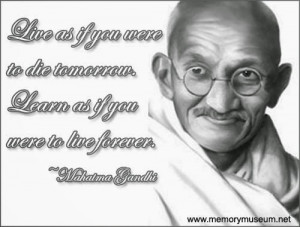 ... YOURSELF IS TO LOSE YOURSELF IN THE SERVICE OF OTHERS - MAHATMA GANDHI