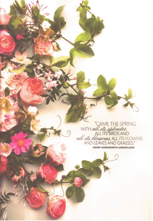 LSL {Thoughts & Quotes} - Flowers in your hair