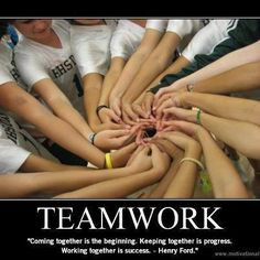 Teamwork - One of My fav quote More