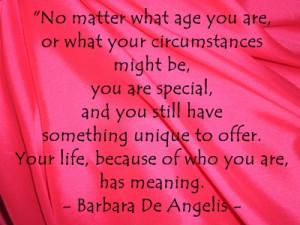 20 Best Barbara de Angelis Quotes