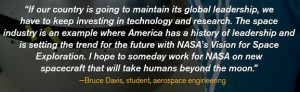 Importance of Educational Hands-on Programs at NASA (written in 2008)