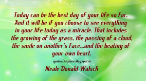 ... Best Quote Ever by Neale Donald Walsch - Motivational Quote Picture