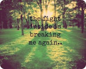 quotes depression scared love
