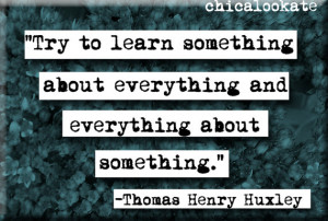 Thomas Henry Huxley Quote Magnet (no.317)