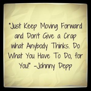 Johnny Depp Quote Hey maddi sound like someone you know