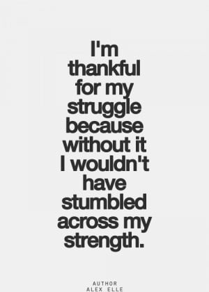 Accept Your Struggles