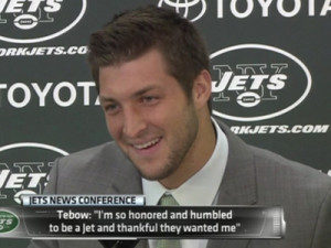 Tim Tebow Quotes An ominous quote about tim