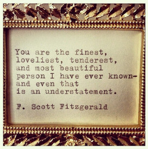 Scott Fitzgerald's 'Love Notes'