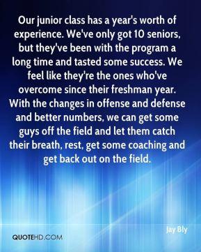 Junior Quotes