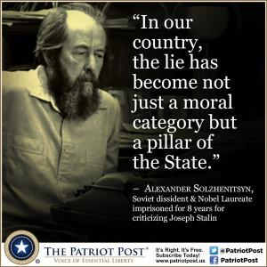 Quote: Alexander Solzhenitsyn