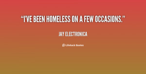 homelessness quotes