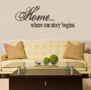 Motivational Inspirational Wall Quotes Removable Vinyl Words Pictures