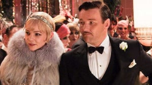 ... Mulligan as Daisy Buchanan and Joel Edgerton as Tom. Photo: Supplied