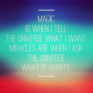 miracles #magic #happy #living #healthy #feel #good #quotes ...