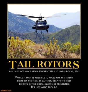Helicopter With A Rock And Now You Give Hi Demotivational Poster