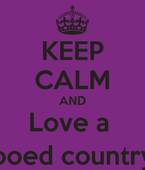 Keep Calm and Love Tattooed Country Girl