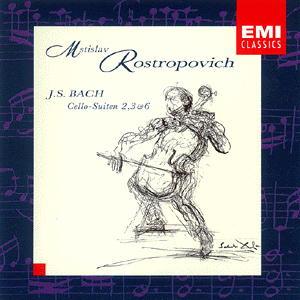 Mstislav Rostropovich Bach Cello Suites