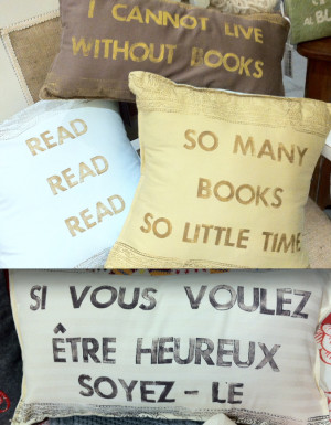 Handmade Eco-Fill Pillows with Quotes