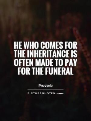 Inheritance Quotes