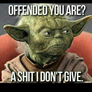 Love Yoda-speak!