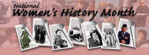 National Women's History Month...celebrate women in the military!