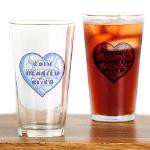 Cold Hearted Bitch Drinking Glass