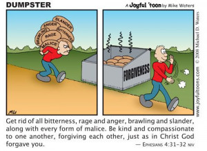 "Forget. - Ephesians 4:31, ""Let all bitterness, and wrath, and anger ..."