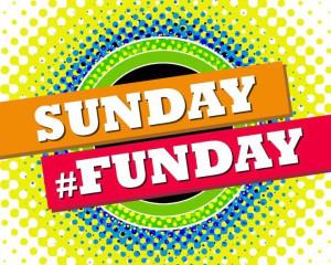 Sunday Funday Beer Beer pong, guitar hero,