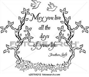love, ornaments, proverb, quote, word, . Fotosearch - Search Clip Art ...