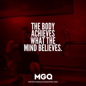 Mind over Matter…