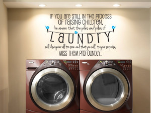 Laundry Room Vinyl Wall Decals in Vinyl Wall Decals and Stickers ...