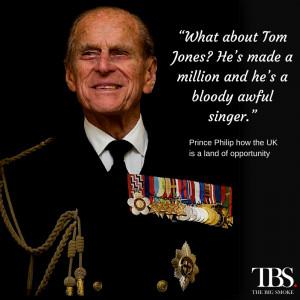 ... birthday: Let's hope Prince Philip says something else soon