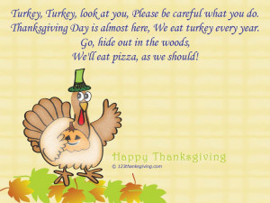 Turkey Turkey : Thanksgiving Poems