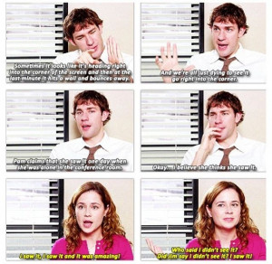 Jim And Pam Halpert Quotes