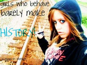 Rebel Girl Quotes Tumblr