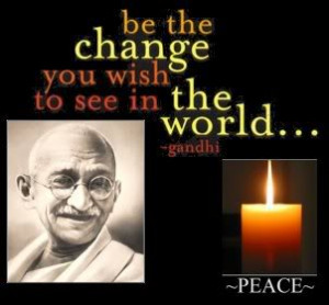 Quotes Gandhi Peace