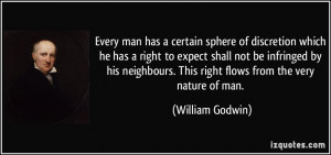 More William Godwin Quotes